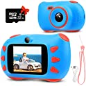 Rumia Kids Camera 1080P Children Digital Video Cameras
