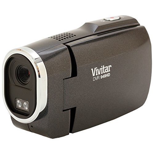 Vivitar DVR949-BLACK 12.1MP Full HD Digital Camcorder Video Camera with 2.7-Inch LCD Screen (Black) (Discontinued by Manufacturer)