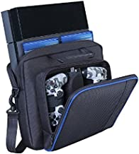 Lyyes PS4 Case Carrying Case Protective Shoulder Bag for PS4 PS4 Pro PS4 Slim