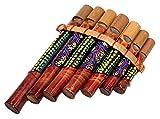 Flauto di Pan in bambù strumento musicale legno artigianale panpipes bambù Flauta panflute