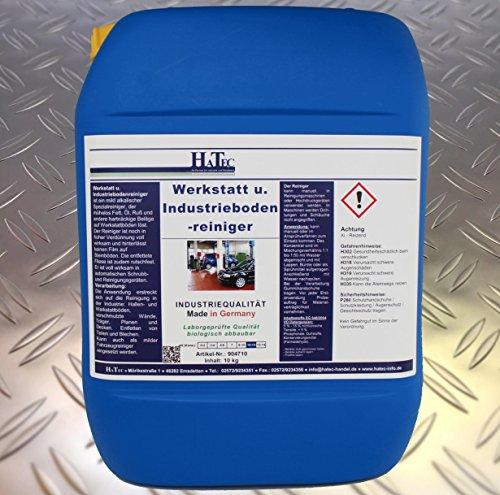 HaTec Werkstattbodenreiniger, Werkstatt- und Industriebodenreiniger 10 kg/Kanister, kommt zum Einsatz als, Industriebodenreiniger, Werkstattreiniger, Ölentferner