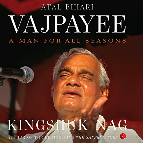 Atal Bihari Vajpayee audiobook cover art