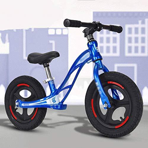 YWSZJ Bicicleta de Equilibrio para niños, Inflable sin Pedales, 2-6 años, Bicicletas de Patinaje sobre Dos Ruedas, Ejercicios para bebés, Deportes de Equilibrio deslizantes (Color : D)