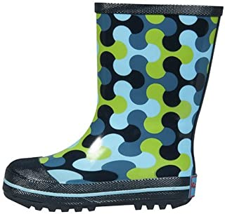 RanyZany Summer Sale Playful Puzzle Rain Boots