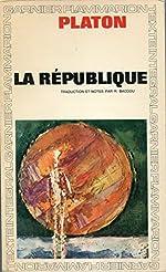 La République Traduction, introduction et notes de Robert Baccou de Platon
