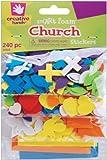 Church Foam Stickers