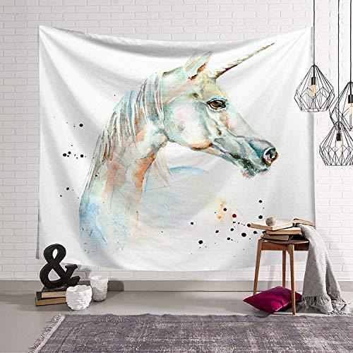 mmzki Mädchen Herz Nordic Grünpflanze Schlafzimmer Dekoration Stoff Wandteppiche Wand Decke hängenden Stoff Hintergrund LS-TBBK0010 200x150