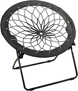 Bunjo Bungee Chair Black & Gray (Black to Grey) (Black to Grey)