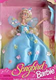 Mattel Songbird Barbie Doll w Real Singing Songbird Balances on Fingertip! (1995)