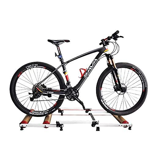 N/Z Mobiliario para el hogar Entrenador de Bicicletas MTB Estación de Ejercicios para Bicicletas de Carretera Entrenador de Rodillos de Ciclismo Interior Plegable