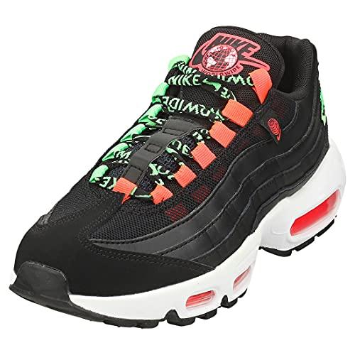 Nike Air MAX 95 Se Mujeres Zapatillas Moda Black White - 38 EU