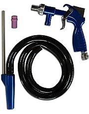 Asturo 3147500 Pistola de arenado semillas-Kit profesional PS 2, color azul y plateado