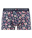 Tommy Hilfiger Trunk Floral Print Boxer, Rosa (Navy Blazer 416), Small Uomo