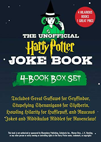 The Unofficial Harry Potter Joke Book 4-Book Box Set: Includes Great Guffaws for Gryffindor, Stupefying Shenanigans for Slytherin, Howling Hilarity for ... Riddles for Ravenclaw! (English Edition)