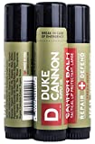 Duke Cannon Balm Tactical Lip Protectant with SPF 15, 0.56oz, 3 Pack