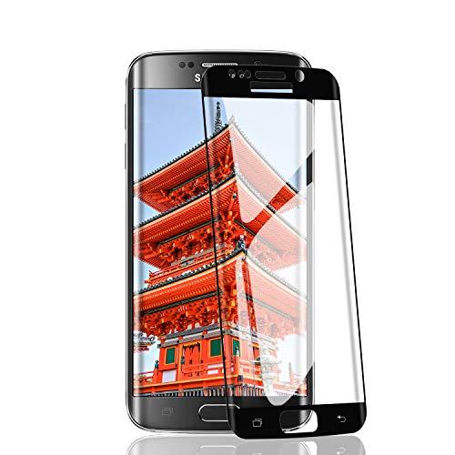 RIIMUHIR Verre Trempé pour Samsung Galaxy S7 Edge,9H Dureté,Ultra Résistant Film Protection écran,Sans Bulles,Full Coverage Samsung Galaxy S7 Edge Vitre Protecteur,Lot de 2