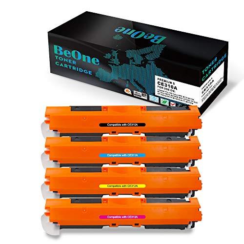 BeOne Toner kompatibel zu HP CE310A 126A CE311A CE312A CE313A 130A CF350A für HP Laserjet Pro 100 Color MFP M175 M175A M175nw M275 M275NW MFP CP1020 CP1025 CP1025nw M176 M176FN M177 M177FW