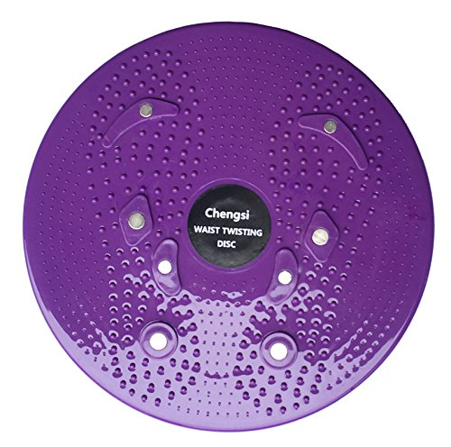 Product Image 2: chengsi Twisting Waist Disc Bodytwister Ankle Body Aerobic Exercise Foot Exercise Fitness Twister Magnet Balance Rotating Board nyp01 (Purple)