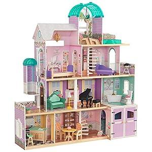 KidKraft Rosewood Mansion Dollhouse with EZ Kraft Assembly