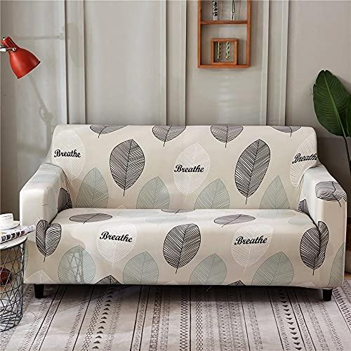 Fundas de sofá con Estampado de Rayas Modernas Fundas de reposabrazos Fundas de sofá con Todo Incluido Funda de sofá seccional elástica Estilo L A15 3 plazas