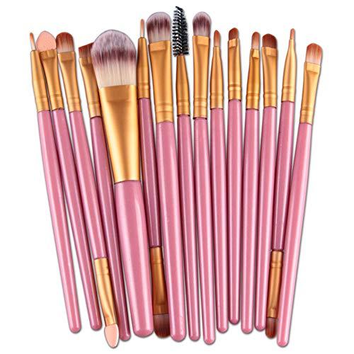 HOUXIAONI Kit De Pinceaux De Maquillage Start The Day Beautifully Kit pour Fard à Paupières Foundation,3-OneSize