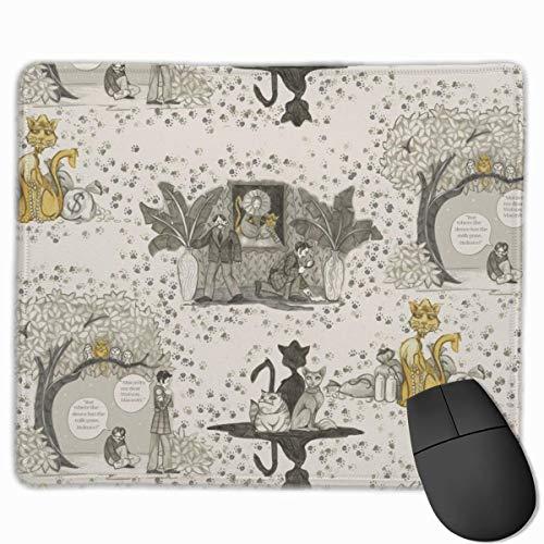 N\A La Pata Oculta (basada en la macavidad de t.S. Eliot, El Gato Misterioso) Alfombrilla de ratón Alfombrilla de ratón con Respaldo de Goma Antideslizante