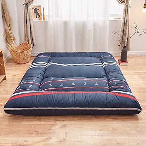 TTFFWW Folding Futon Matratze,Weich Schlafen pad,Japaner Bett roll,Dick Japaner...