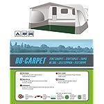 Bo-Camp - Tent carpet pack - anthracite, 2.5 X 2 metres