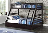Acme Furniture XL Twin/Queen Bunk Bed with Drawers, Espresso (AC-37425)