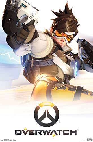 Trends International Overwatch Key Art Wall Poster 22.375' x 34'