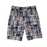 Country Club Prep Traditional Madras Shorts