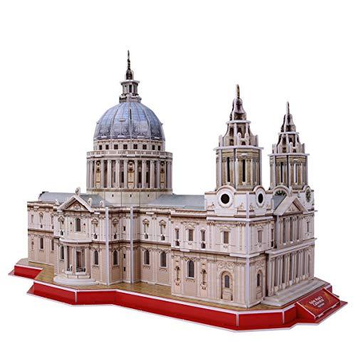 World Brands -St Pauls Cathedral, National Geographic, Cubic Fun, Puzzle, Bausatz, 3D-Puzzle, Bausatz, DS0991H