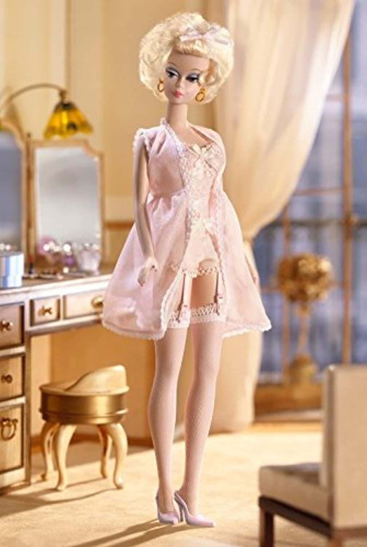 despacho de tienda 2002 Barbie Collectibles - Fashion Model Silkstone Silkstone Silkstone Collection - Lingerie Barbie  4  compras online de deportes