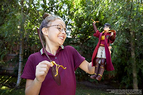 Harry Potter Muñeco Harry Quidditch, juguetes niños + 6 años (Mattel GDJ70) 3