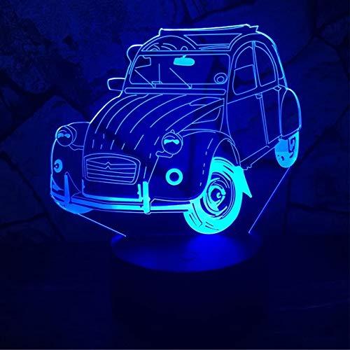 Kreative Auto Nachtlicht Tischlampe Farbwechsel Tischlampe Neue neuartige Nachtlicht