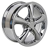 OE Wheels LLC 17 inch Rim Fits Mercedes Benz Wheel MB01 17x7.5 Chrome Wheel Hollander 65288