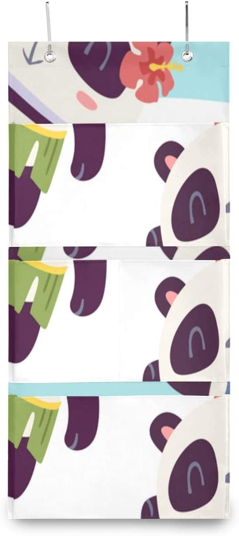 XDCGG Hanging Storage Manufacturer direct delivery Bag Cartoon Style Sale item Large Panda Girl Cute St