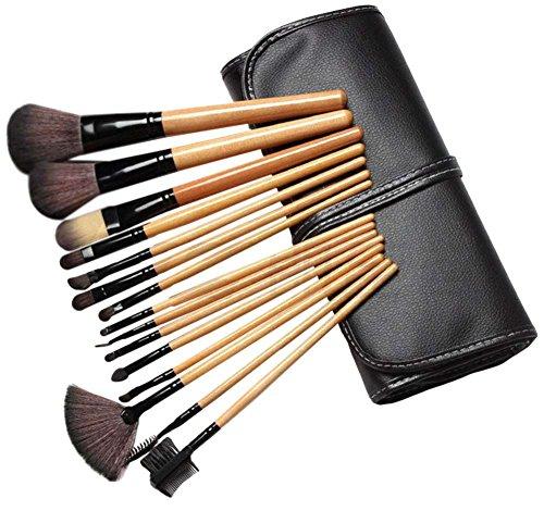 AKAAYUKO 15PCS Kit De Pinceau Maquillage Professionnel Pinceaux Makeup Brushes