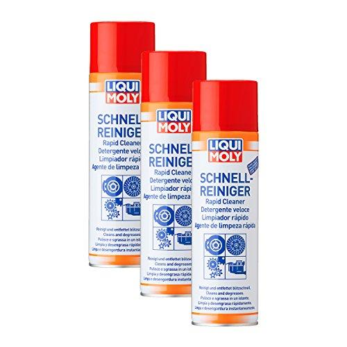 3X LIQUI Moly 3318 Schnell-Reiniger Spray BremsenReiniger 500ml