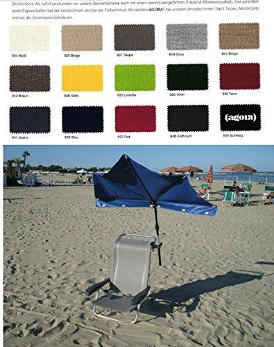 Holly sunshade Beach and Shore das Stabilo ® Wellness Set - Strand - Crespo ligstoel - 2,1 kg licht
