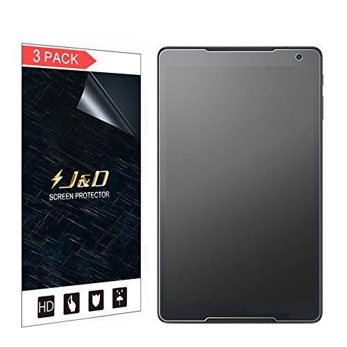 J&D Compatibile per 3 Confezioni Smart Tab N8 10.1' Protezione Schermo, [Anti-riflesso] [Anti-impronte] Premium Matte Pellicola Protettiva per Vodafone Smart Tab N8 10.1 inch