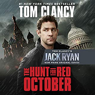 The Hunt for Red October                   By:                                                                                                                                 Tom Clancy                               Narrated by:                                                                                                                                 Scott Brick                      Length: 18 hrs and 42 mins     3,433 ratings     Overall 4.7