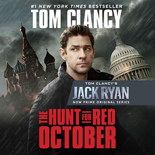 The Hunt for Red October audiobook cover art