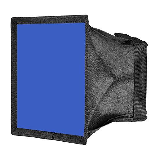 Neewer 15x17cm Diffusore Pieghevole Mini Softbox per Luci LED CN-160, CN-126 & CN-216 (Blu)