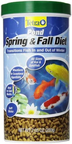 TetraPond Spring and Fall Diet Floating Pond Sticks Fish Food