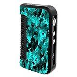 Decal Sticker Skin WRAP Aqua Camo Custom Art for Dovpo Guardian 1.5 150W