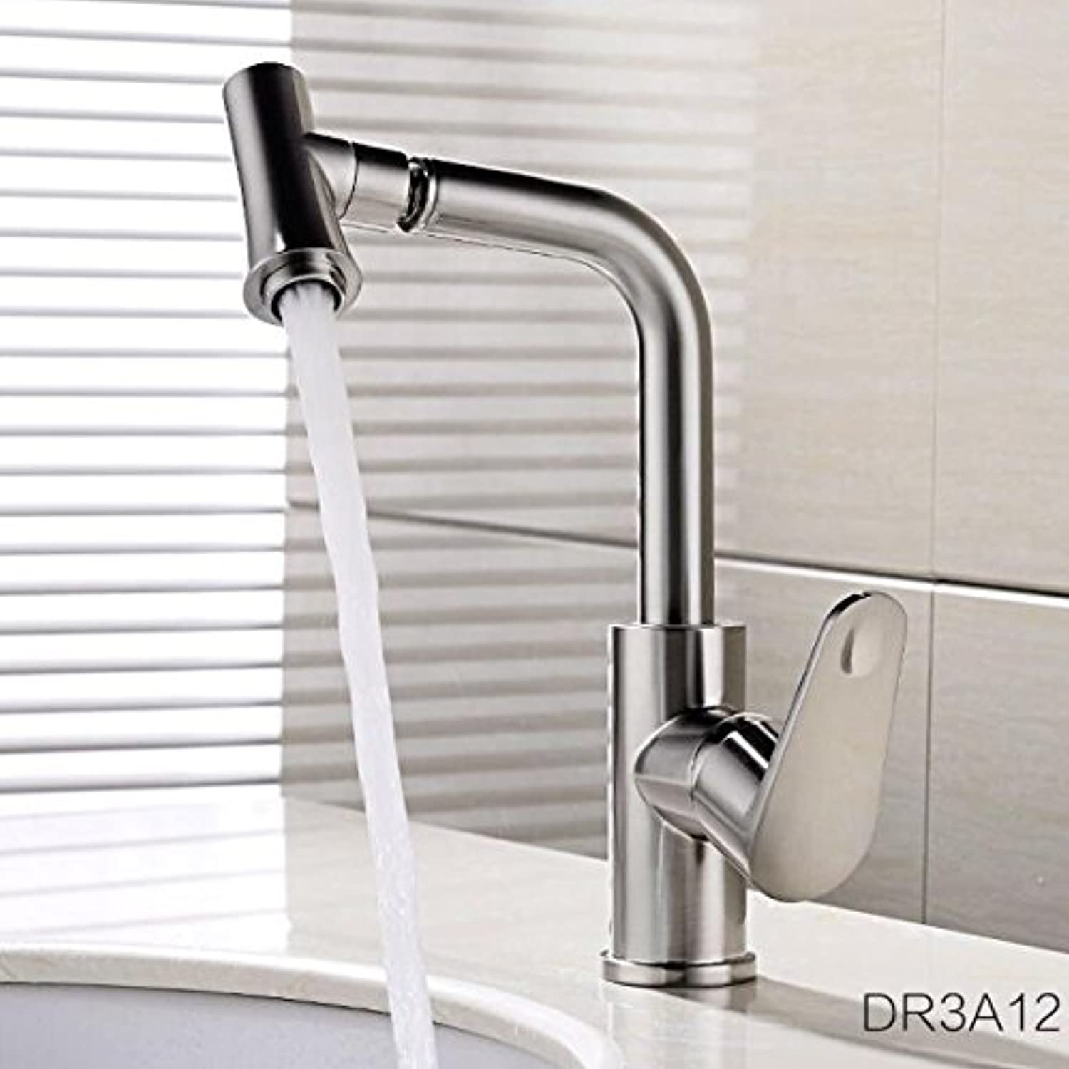 Retro Deluxe Faucetinging High Quality New Arrival Kitchen Faucet Chrome Brass hot and Cold Water tap Sink Mixer tap wash Basin Faucet Basin Mixer,Nickel