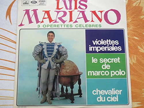 Disque Vinyle LP 33 tours - Emi Htx 40105 - Luis Mariano...