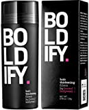 BOLDIFY Hair Fibers for Thinning Hair (DARK BROWN) 100% Undetectable Natural...