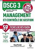 Management et contrôle de gestion - Réforme Expertise comptable